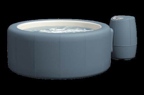Softub Whirlpool Legend metallic blue_3D