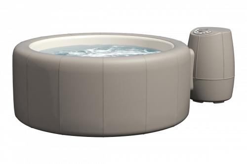 Softub Whirlpool Legend taupe_3D