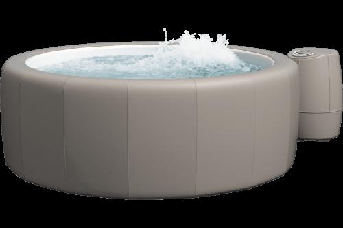 Softub Whirlpool Poseidon taupe_3D