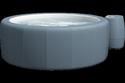 Softub Whirlpool Resort metallic blue_3D