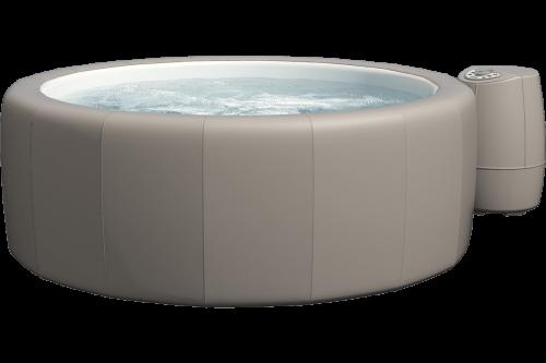Softub Whirlpool Resort taupe_3D